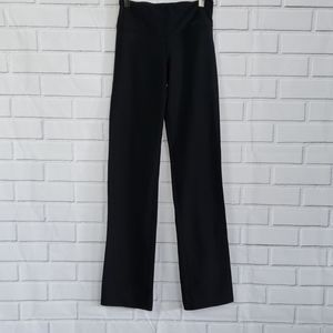 NIKE Dri-Fit one legend flare black pants size XS